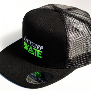 Eat Sleep Skate - Black Trucker