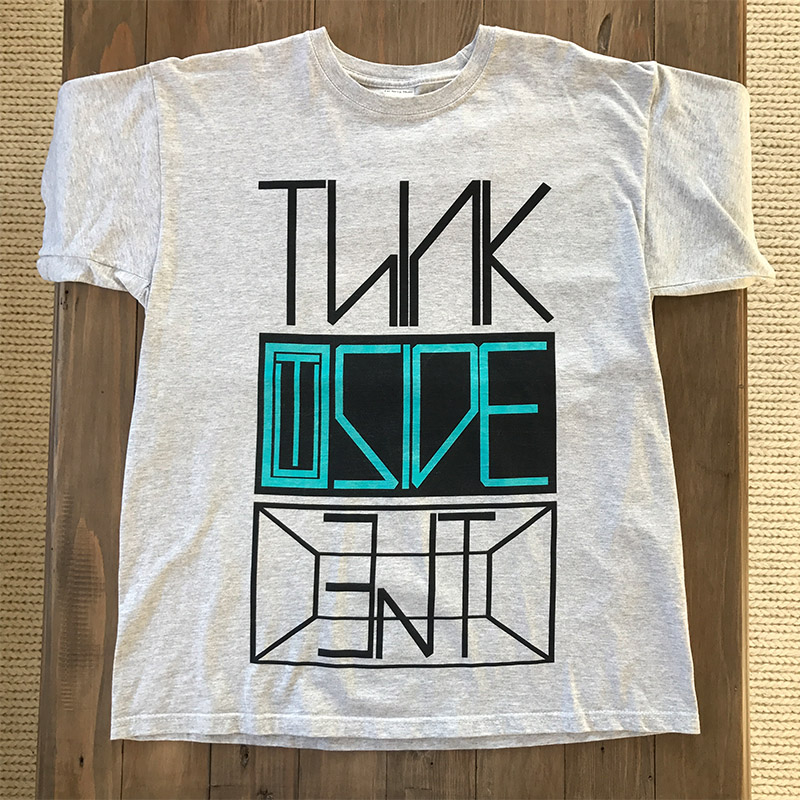 Think Outside The Box - Grey