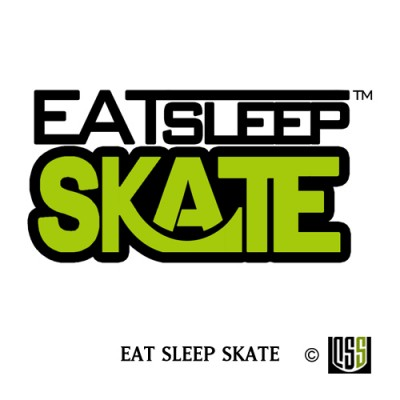 Eat Sleep Skate - Sticker