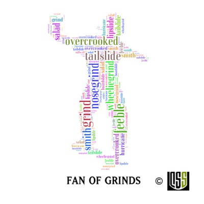 Fan of Grinds - Sticker