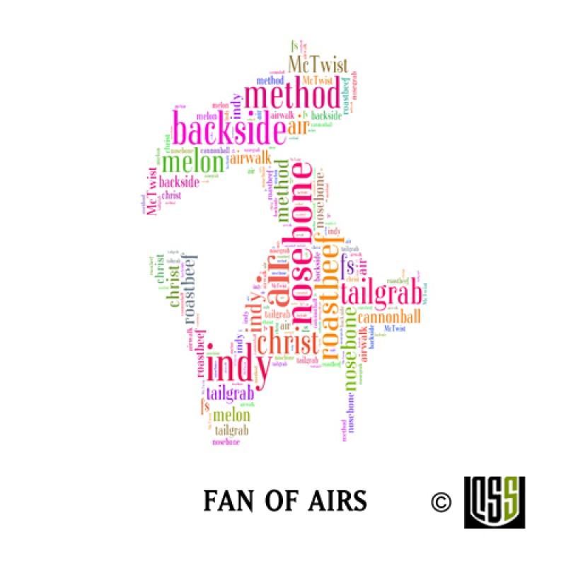 Fan of Airs - Sticker