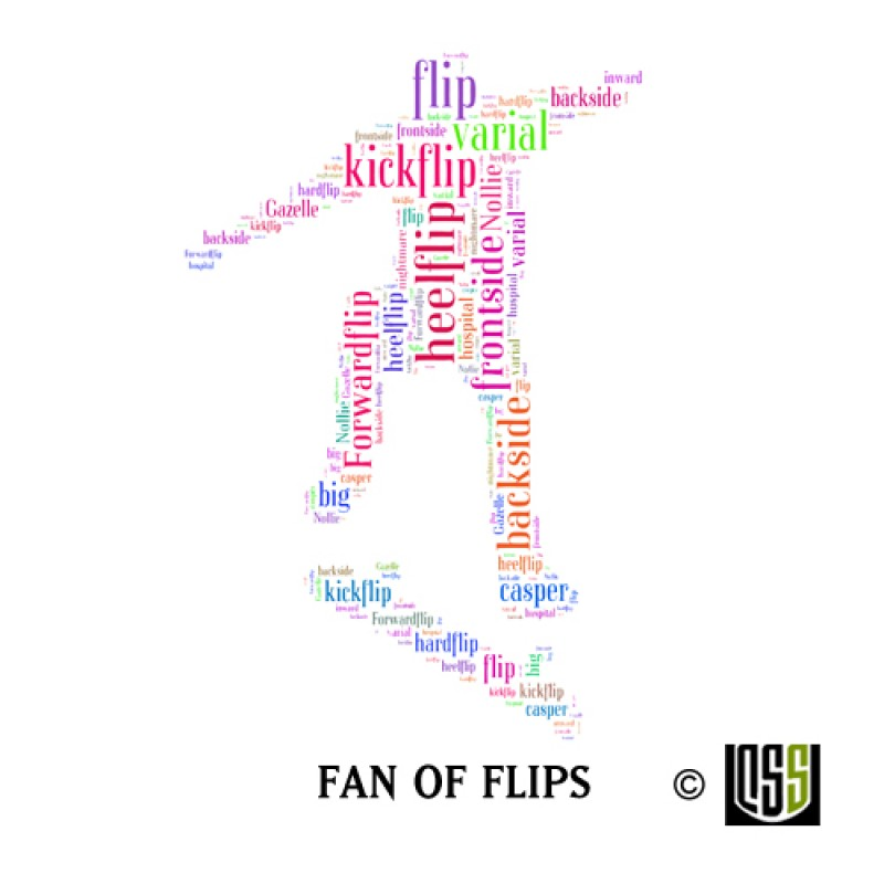 Fan of Flips - Sticker